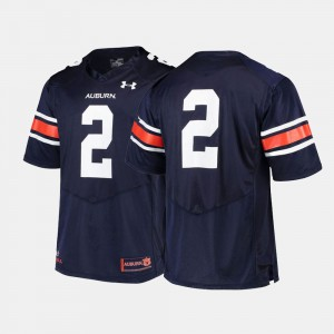 #2 Auburn Tigers College Football For Men's Jersey - Navy