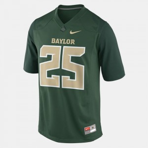 #25 Lache Seastrunk Baylor Bears College Football Youth Jersey - Green
