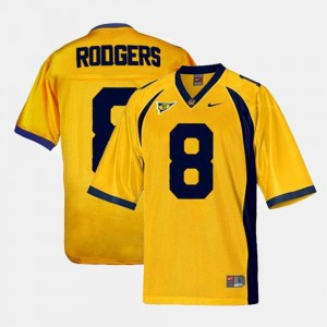 #8 Aaron Rodgers California Golden Bears Youth(Kids) College Football Jersey - Gold