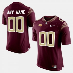 #00 Florida State Seminoles College Limited Football For Men Customized Jersey - Red
