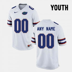 #00 Florida State Seminoles College Limited Football Youth Customized Jerseys - White