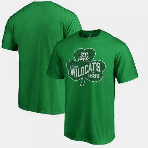 Arizona Wildcats Paddy's Pride Big & Tall St. Patrick's Day For Men's T-Shirt - Kelly Green