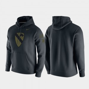 Army Black Knights For Men 1st Cavalry Division Hoodie - Anthracite