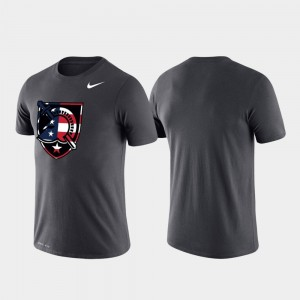 Army Black Knights For Men Performance Americana Legend T-Shirt - Anthracite