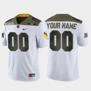 #00 Army Black Knights 1st Cavalry Division Limited Edition Mens Custom Jersey - White