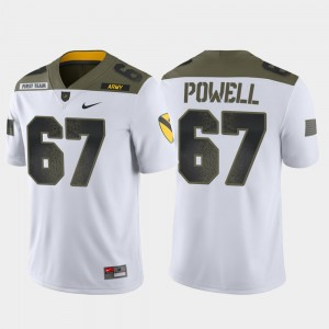 #67 Dean Powell Army Black Knights For Men 1st Cavalry Division Limited Edition Jersey - White
