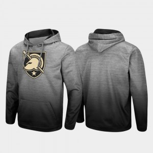 Army Black Knights For Men's Sitwell Sublimated Pullover Hoodie - Heathered Gray