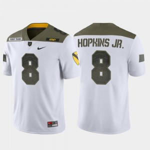 #8 Kelvin Hopkins Jr. Army Black Knights 1st Cavalry Division Limited Edition Men's Jersey - White