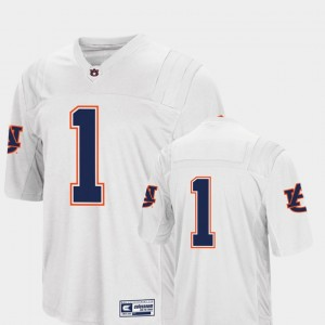 #1 Auburn Tigers For Men's College Football Colosseum Jersey - White