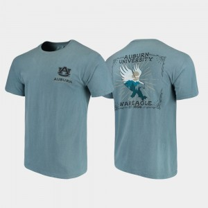 Auburn Tigers State Scenery Comfort Colors For Men's T-Shirt - Blue