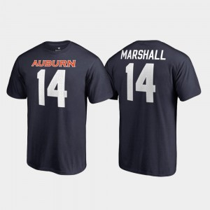 #14 Nick Marshall Auburn Tigers For Men's Name & Number College Legends T-Shirt - Navy