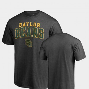 Baylor Bears For Men Square Up T-Shirt - Heathered Charcoal