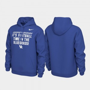 Kentucky Wildcats Local Phrase Mens Pullover Hoodie - Royal