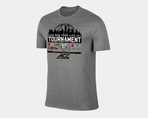 March Madness Men's Basketball Conference Tournament 2018 ACC All Team T-Shirt - Heather Gray