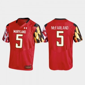 #5 Anthony McFarland Maryland Terrapins College Football For Men Replica Jersey - Red