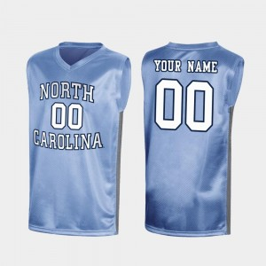#00 North Carolina Tar Heels March Madness Special College Basketball Men's Customized Jersey - Royal