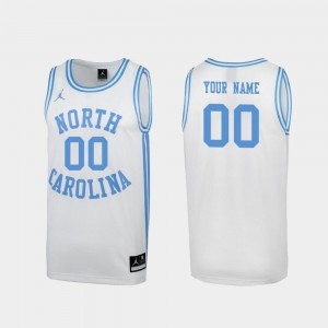 #00 North Carolina Tar Heels Special College Basketball March Madness Men's Customized Jerseys - White