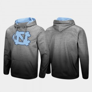 North Carolina Tar Heels Sitwell Sublimated Pullover Men's Hoodie - Heathered Gray