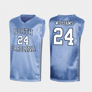 #24 Kenny Williams North Carolina Tar Heels For Men March Madness Special College Basketball Jersey - Royal