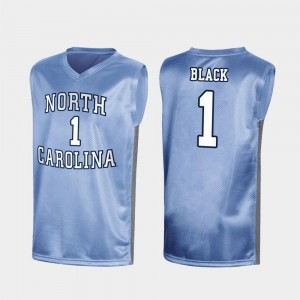 #1 Leaky Black North Carolina Tar Heels Mens Special College Basketball March Madness Jersey - Royal