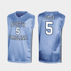 #5 Nassir Little North Carolina Tar Heels March Madness For Men's Special College Basketball Jersey - Royal