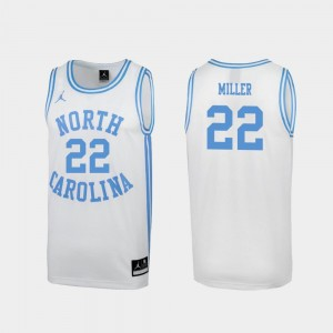 #22 Walker Miller North Carolina Tar Heels For Men's March Madness Special College Basketball Jersey - White