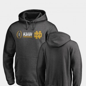 Notre Dame Fighting Irish 2018 College Football Playoff Bound Cadence For Men's Hoodie - Heather Gray