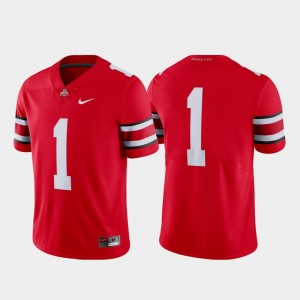#1 Ohio State Buckeyes Mens College Football Limited Jersey - Scarlet