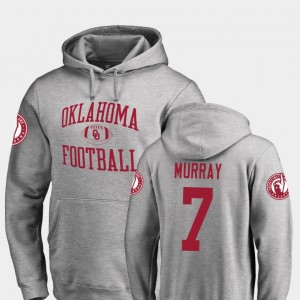 #7 DeMarco Murray Oklahoma Sooners For Men's College Football Neutral Zone Hoodie - Ash