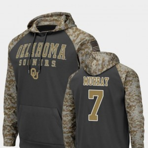 #7 DeMarco Murray Oklahoma Sooners Colosseum Football United We Stand For Men Hoodie - Charcoal