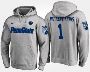 #1 Penn State Nittany Lions For Men No.1 Hoodie - Gray