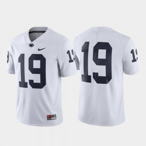 #19 Penn State Nittany Lions Mens Limited Jersey - White