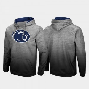 Penn State Nittany Lions Men Sitwell Sublimated Pullover Hoodie - Heathered Gray