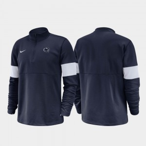 Penn State Nittany Lions Half-Zip Performance 2019 Coaches Sideline For Men's Jacket - Navy