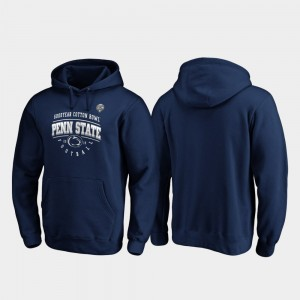 Penn State Nittany Lions 2019 Cotton Bowl Bound For Men Tackle Hoodie - Navy