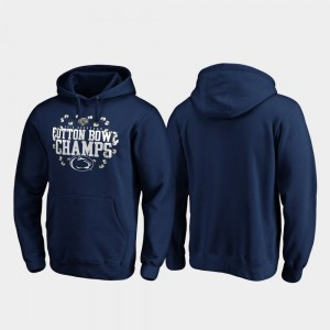 Penn State Nittany Lions For Men 2019 Cotton Bowl Champions Receiver Hoodie - Navy