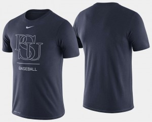 Penn State Nittany Lions Dugout Performance College Baseball Mens T-Shirt - Navy