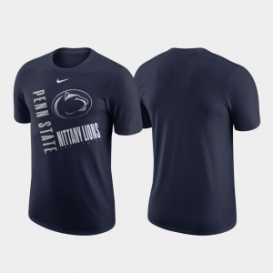 Penn State Nittany Lions Men Just Do It Performance Cotton T-Shirt - Navy