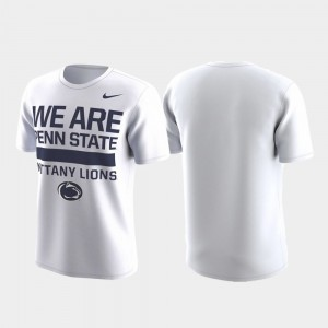 Penn State Nittany Lions Performance Local Verbiage For Men T-Shirt - White