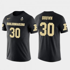#30 Anthony Brown Purdue Boilermakers Future Stars For Men Dallas Cowboys Football T-Shirt - Black
