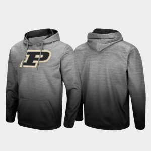 Purdue Boilermakers Sitwell Sublimated Men's Pullover Hoodie - Heathered Gray