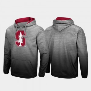 Stanford Cardinal Pullover Sitwell Sublimated For Men's Hoodie - Heathered Gray