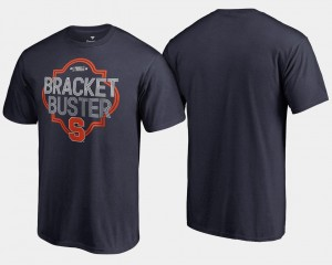 Syracuse Orange For Men 2018 March Madness Bracket Buster Basketball Tournament T-Shirt - Navy