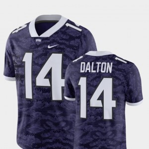 #14 Andy Dalton TCU Horned Frogs For Men Player Alumni Football Game Jersey - Purple