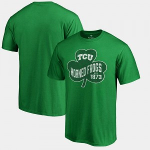 TCU Horned Frogs For Men Paddy's Pride Big & Tall St. Patrick's Day T-Shirt - Kelly Green