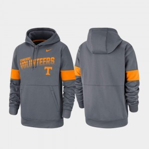 Tennessee Volunteers Performance For Men Pullover Hoodie - Charcoal