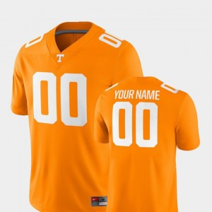 #00 Tennessee Volunteers College Football Mens 2018 Game Customized Jersey - Tennessee Orange