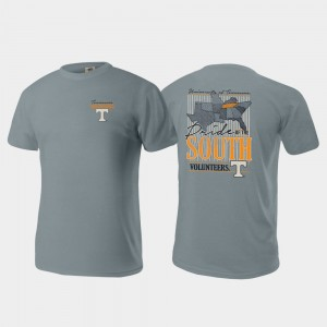 Tennessee Volunteers For Men Pride of the South Comfort Colors T-Shirt - Gray
