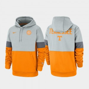 Tennessee Volunteers Rivalry For Men's Therma Performance Pullover Hoodie - Gray Tennessee Orange