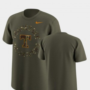 Tennessee Volunteers For Men's Legend Camo T-Shirt - Olive